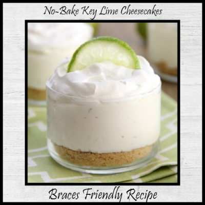 No Bake Key Lime Cheesecakes